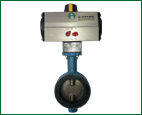 ACTUATOR WITH BUTTERFLY VALVE